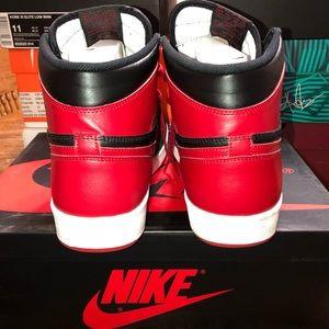 """Jordan Shoes - Air Jordan 1.5 """"The Return"""" Black/Red, Size 11"""